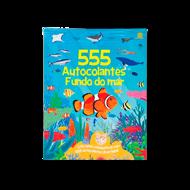 555 AUTOCOLANTES — FUNDO DO MAR