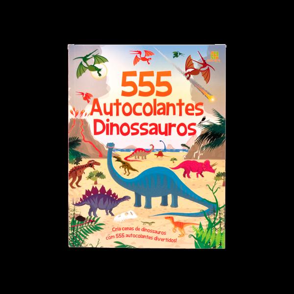 555 AUTOCOLANTES - DINOSSAUROS