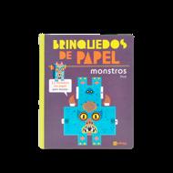 BRINQUEDOS DE PAPEL MONSTROS