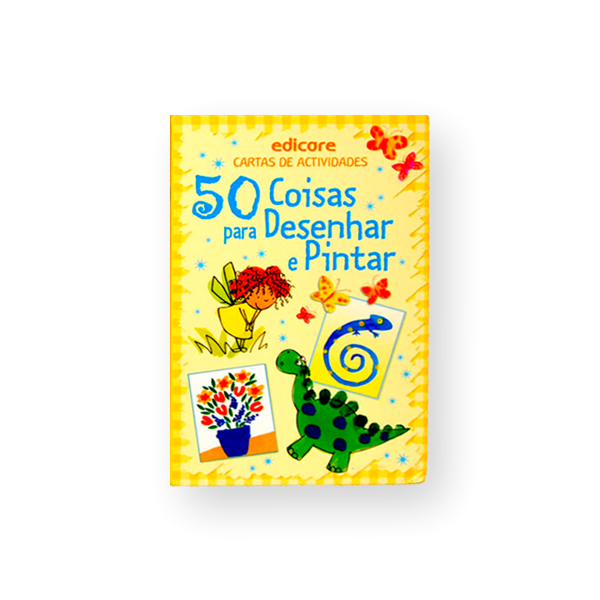 CARTAS - 50 COISAS PARA DESENHAR E PINTAR