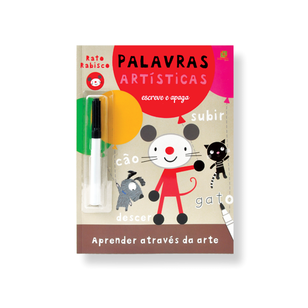 RATO RABISCO - PALAVRAS ARTÍSTICAS
