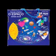 APRENDE E EXPLORA — O ESPAÇO  (Puzzle 205 Pcs + livro)